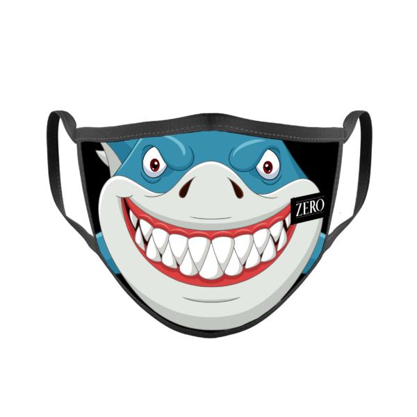 Mascarilla Reutilizable Transpirable Shark