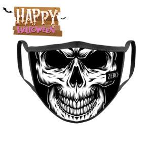 Mascarilla reutilizable Calavera Halloween