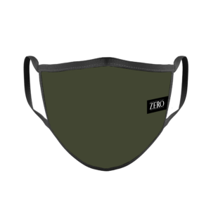 Mascarilla Reutilizable Supertranspirable Verde Militar