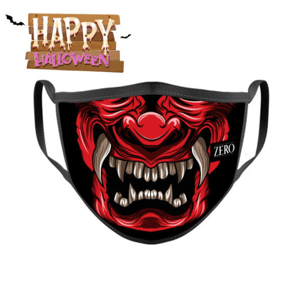 Mascarilla reutilizable Demonio Diablo Devil Halloween