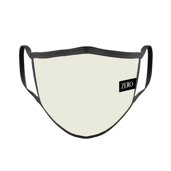 mascarilla ligera tela gris perla